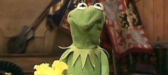 Kermit-frown